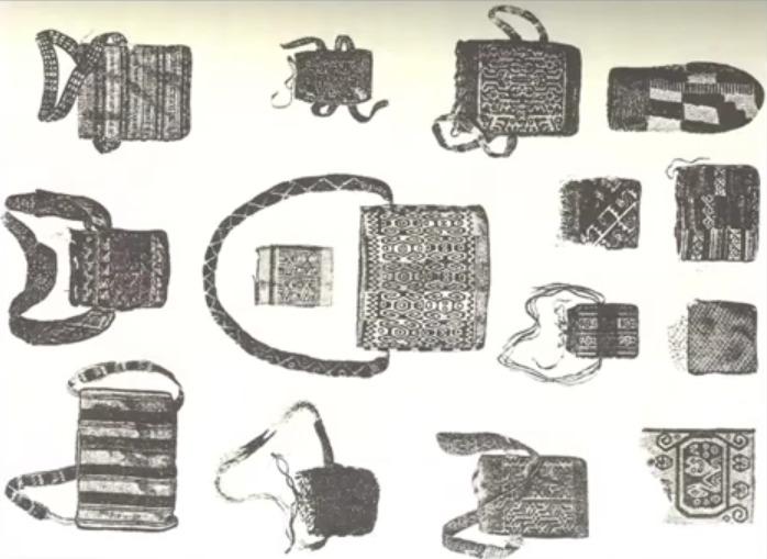 Coca bitkisinin saklandığı torbalar