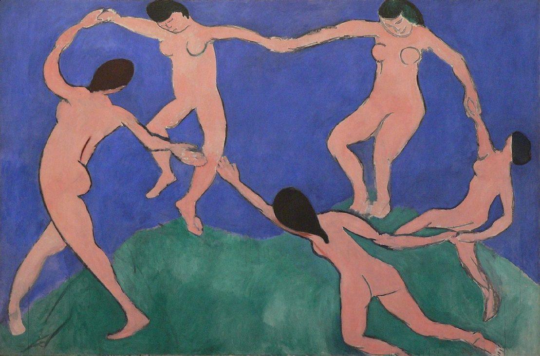 La Danse (Dans), 1909 - Matisse